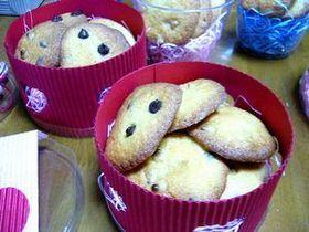 バレンタインにチョコチップクッキー