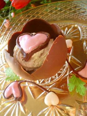 バレンタイン♡風船でチョコレートカップ♪