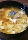 姫竹とさばの味噌汁