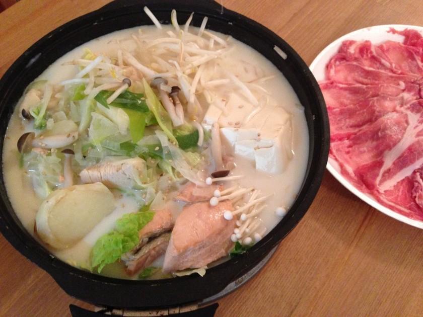 激ウマ!!簡単料亭の味♫本格 豆乳鍋