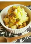 きゅうりのカボ玉サラダ