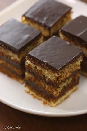 チョコレートケーキ オペラ