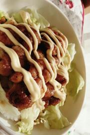 簡単♡鶏の照り焼きマヨ丼の写真