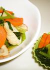 ちくわと小松菜の煮物(レンジ)