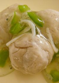 離乳食後期■里芋だんごの野菜あんかけ■