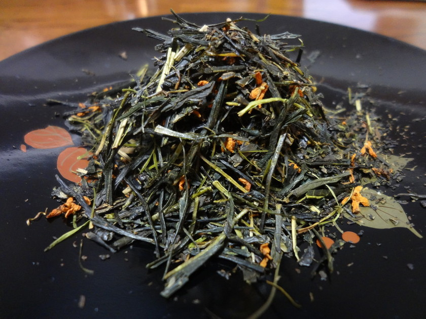 キンモクセイのお茶(自家製桂花茶)