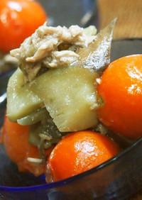 ♡ナスとツナとミニトマトの煮物♡