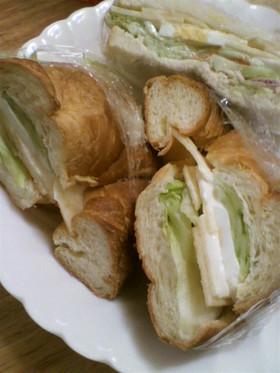 りんごのサンドイッチ♪玉子サンドにも★