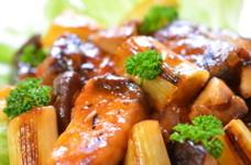 ブリと焼きネギの甘酢炒め✿トマト風味✿