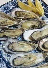 殻付き牡蠣の簡単フライパン蒸し&コキール