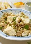 お家にあるもので*挽肉と豆腐の麻婆豆腐風