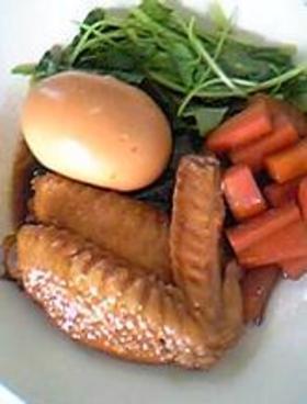 鶏と卵のサッパリ煮