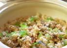 土鍋でふっくら♪牡蠣の照り焼き飯✿