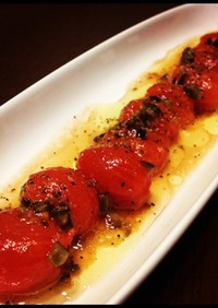 ぷるぷるミニトマトのサラダ