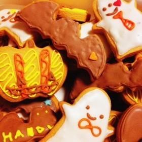 ハロウィンアイシングクッキー**