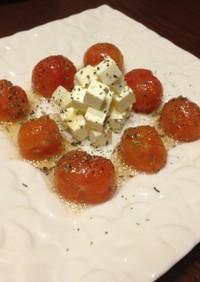 ミニトマトとクリームチーズのおつまみ