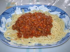 ☆主食☆スパゲッティ(簡単ミートソース)