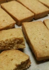 小麦胚芽入 キャラメル ショ—トブレッド