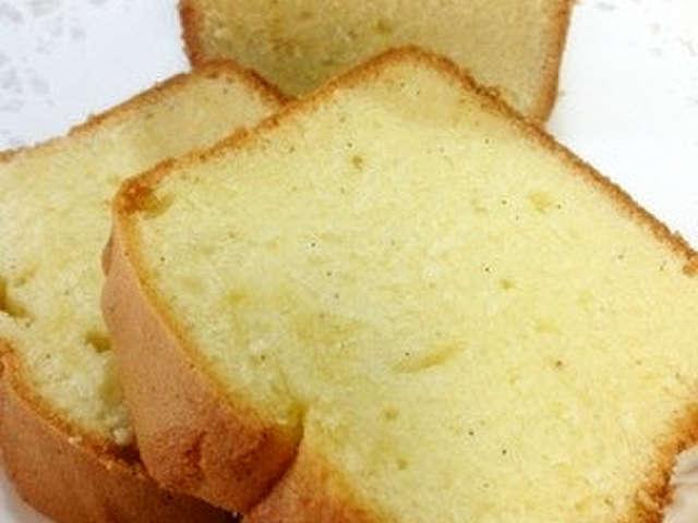 パウンドケーキ 失敗例