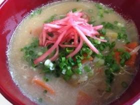 トンコツ風スープ
