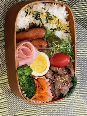 牛肉の甘辛炒め⭐お弁当