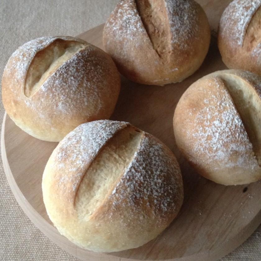 ◉実験!レポート、乾燥麹でパンを焼く。