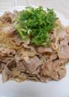 牛バラ切り落とし肉としらたきの炒め煮