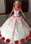 お誕生日バービーデコレーションケーキ