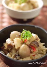 中華ちまき風炊き込みご飯~もち米入り~