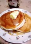 卵・牛乳なし~もっちりホットケーキ☆