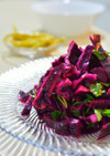 トルコの家庭料理☆紫キャベツの即席漬け