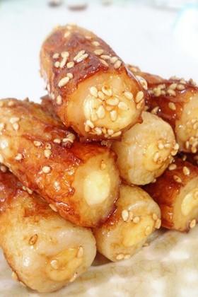 お弁当に☆チーズinちくわの甘辛焼き