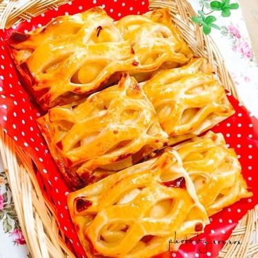 冷凍パイを使った 簡単アップルパイ