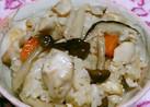 鶏肉の炊き込みご飯