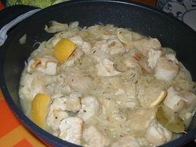 セネガル風 チキンのレモン風味
