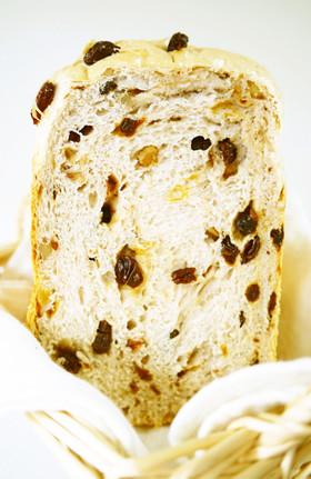 HB早焼き♪リッチ★レーズンくるみ食パン