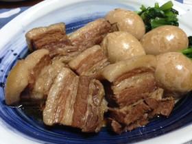 圧力鍋で簡単♪豚の角煮☆