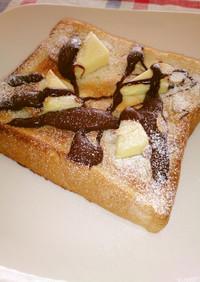 チーズ&チョコ☆スイーツトースト