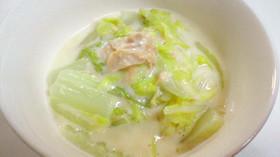 ツナと白菜のクリーム煮
