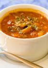 具だくさんレンズ豆スープ