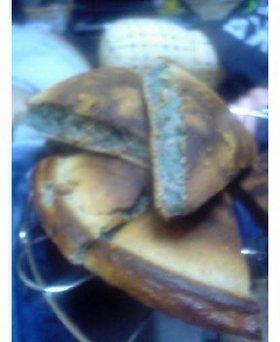 超簡単!!紫芋パン♡