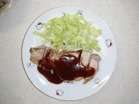 豚肉ソテー