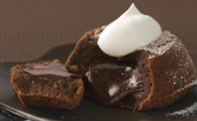 とろ~りとろけるチョコケーキ