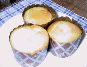 レモンバーベナシロップのバナナマフィン♪