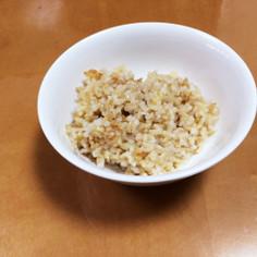 玄米圧力鍋覚え書き