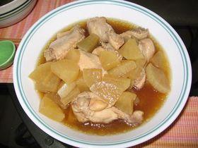 超簡単!鶏肉と大根の煮物