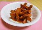 ☆お弁当に☆ウィンナーのケチャップ甘煮☆