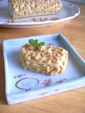 Maple potato cake