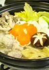 自家製スープで☆塩ちゃんこ鍋