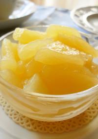 簡単*レンジで作るりんごの甘煮